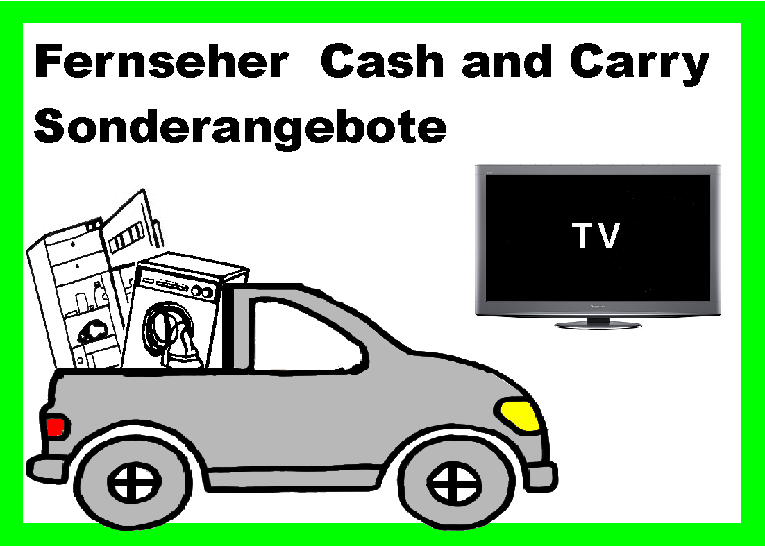 Knopf Fernseher Cash Carry